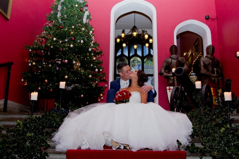 Christmas Wedding in Kinnitty Castle with Amy and Barry