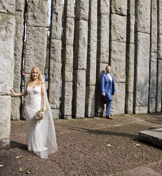 Wedding photography in Shelbourne Hotel, Stephens Green and Byrne and Fallons with Maria and Dwayne