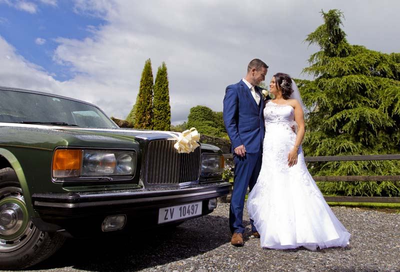 Wedding Photography in Tullamore Court Hotel and Hallow House Gardens, Tinnycross with Denise and Shane