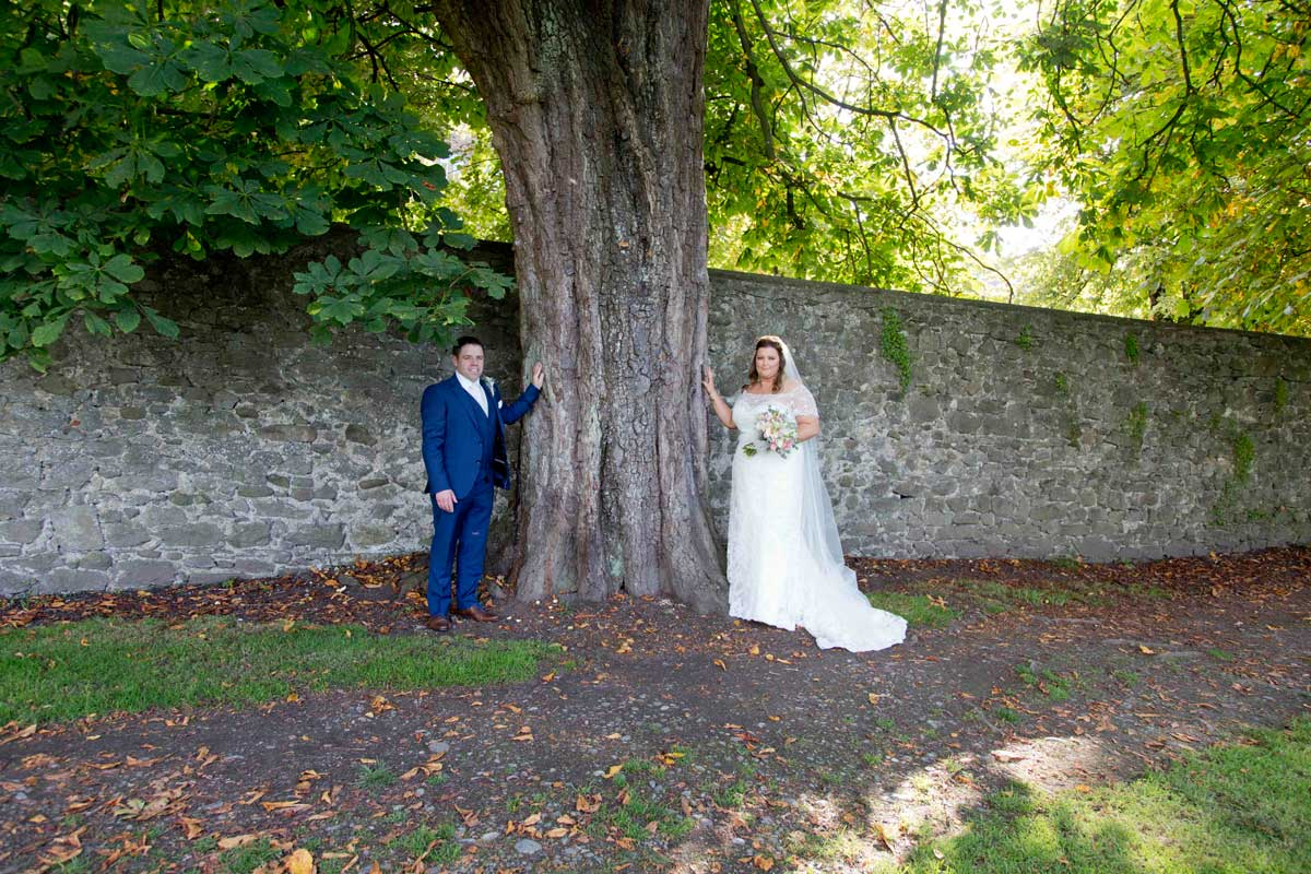 Wedding Photos in Langtons Hotel and Kilkenny Castle with Linda and Noel