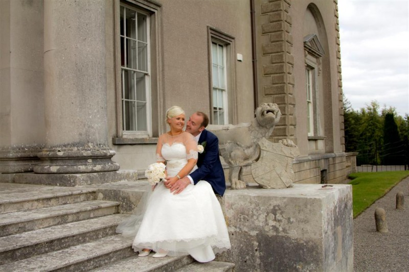 Wedding Photos in the Midlands Park Hotel and Emo Court with Monica and Patrick