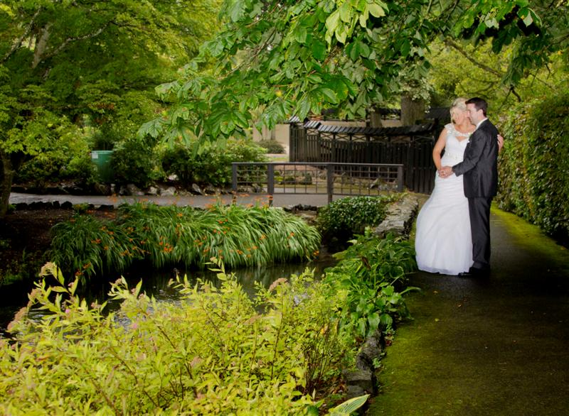 Wedding Photos in the Japanese Gardens and National Stud Kildare and the Midlands Park Hotel with Stephanie & Declan